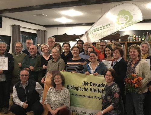 22 neue Streuobst-Pädagogen in 2019 ausgebildet